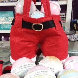Santa Pants Bath Bomb Set